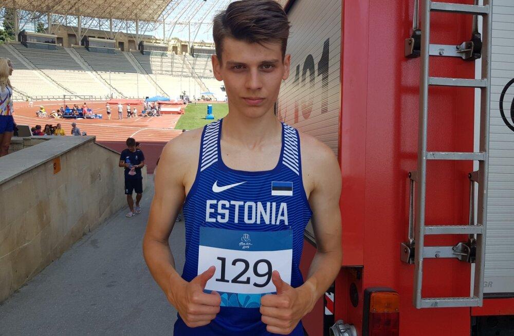 Finaali pääsenud Eesti kergejõustiklased panid Euroopa noorte olümpiafestivalile punkti