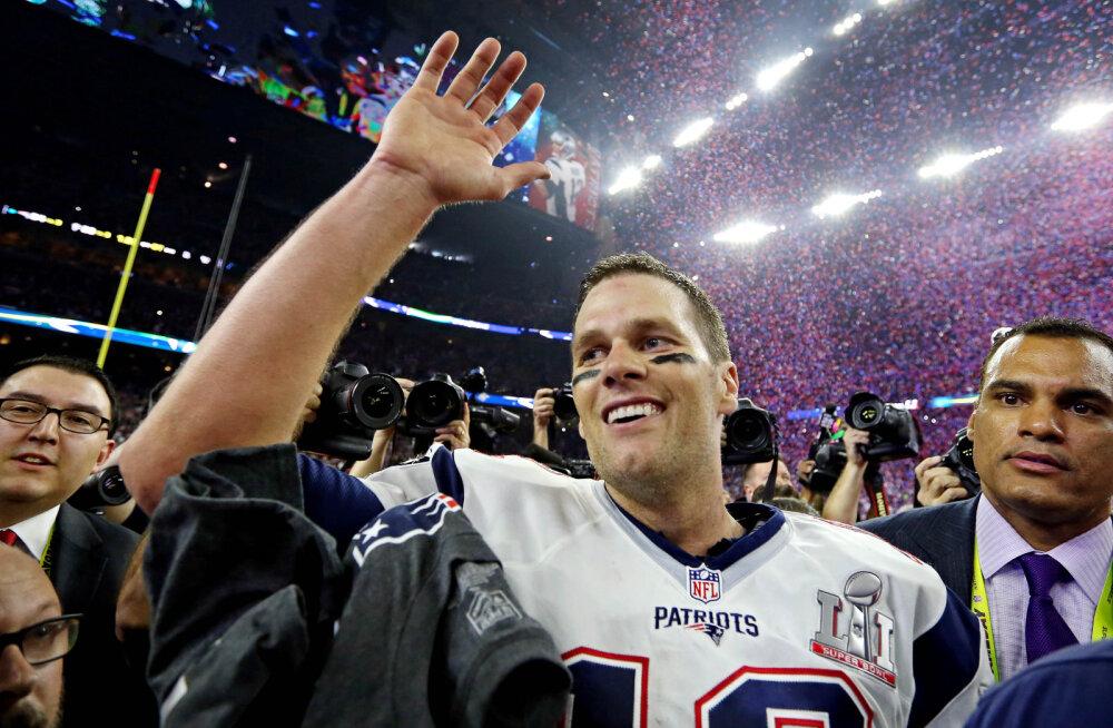 """Super Bowli kangelase mängusärk pandi pihta: """"Varsti on see ilmselt eBay's"""""""