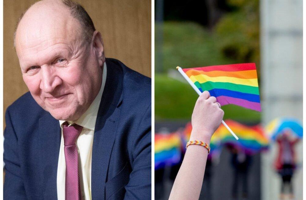 Март Хельме назвал геев извращенцами. Это попало в рапорт Совета Европы