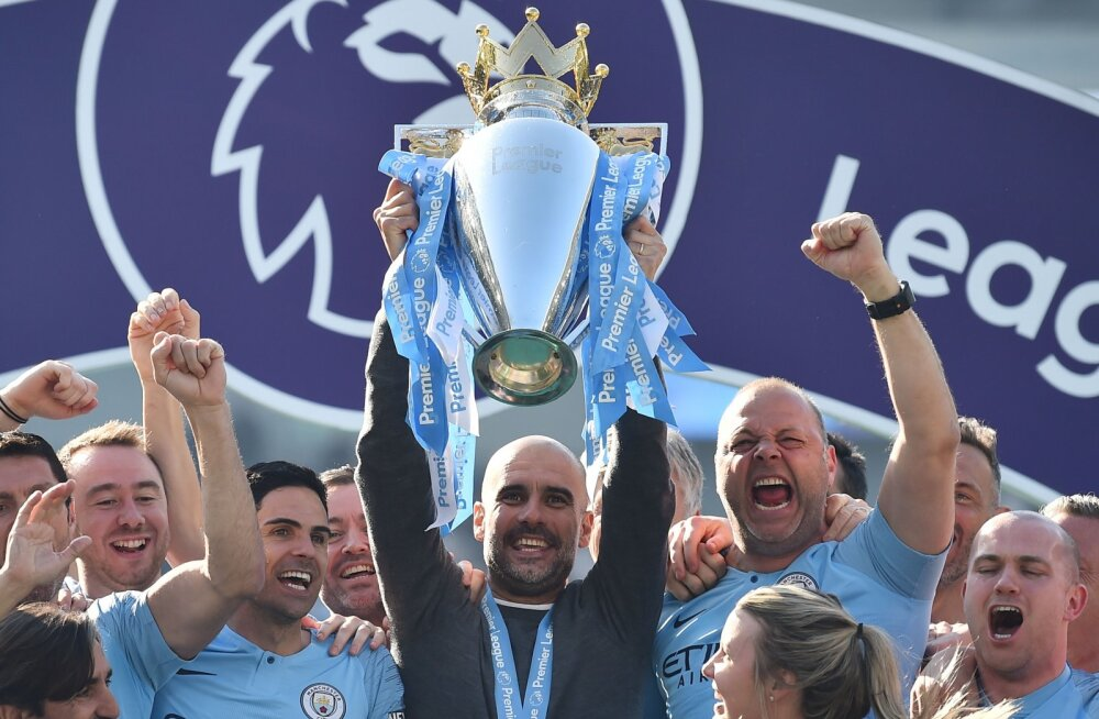 Inglismaa tšempioni Manchester Cityt ähvardab Meistrite liigast eemale jäämine