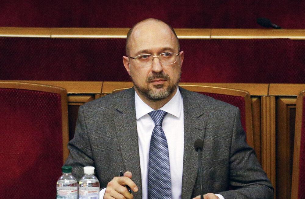 Ukraina ülemraada kinnitas uueks peaministriks Denõss Šmõgali