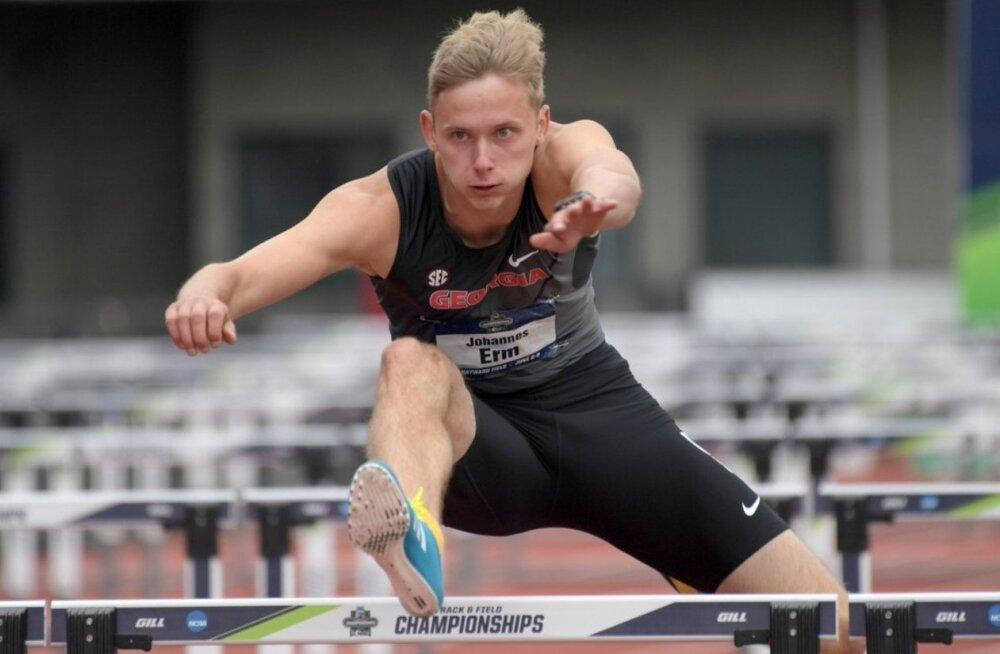 """INTERVJUU   Vägeva kümnevõistluse teinud Johannes Erm """"vaprast hüppeliigesest"""", rasketest tingimustest, Doha MM-ist ja EM-i medalivõimalustest"""