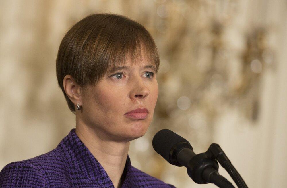 President Kaljulaid kaitses soomerootsi ajalehes palkade erinevusi ja ühetaolist tulumaksu