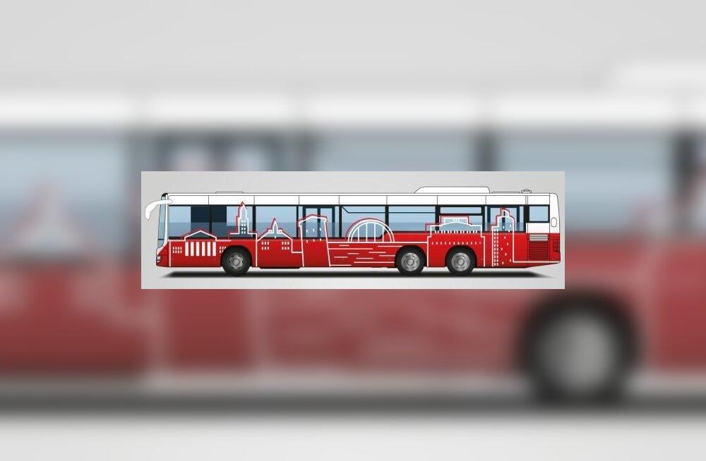 Tartlased valisid linnaliinibussidele uue välimuse