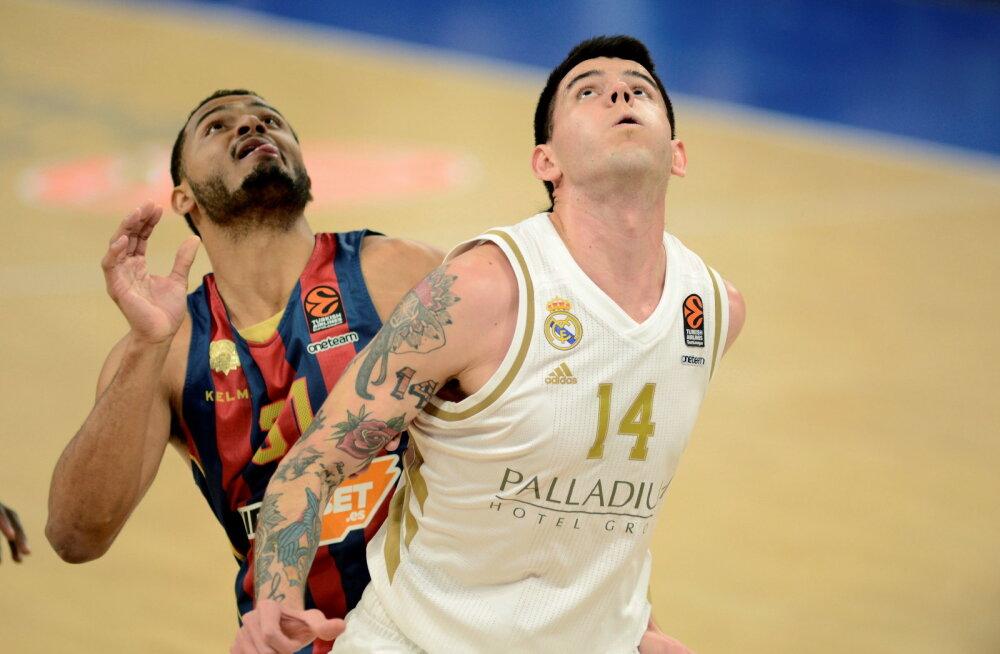 Madridi Reali võiduseeria pikenes kümnele, Maccabi oma viiele mängule