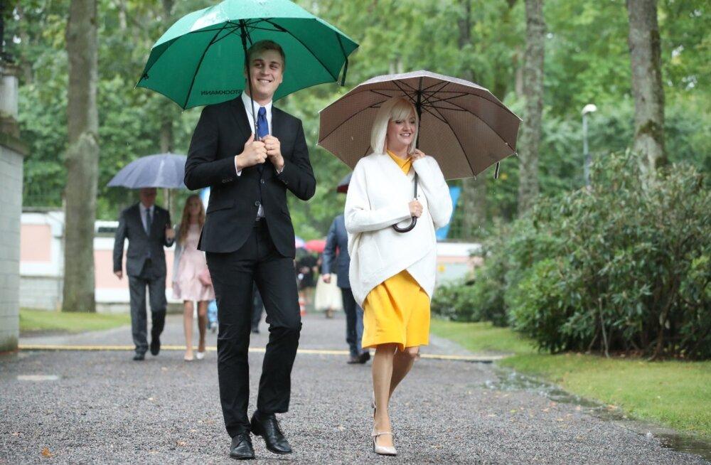 Evelin Samuel-Randvere ja Johan Randvere