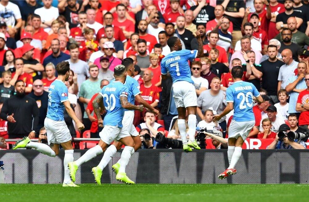 Manchester City mängijad said eile Liverpooli poolehoidjate nina all rõõmustada.