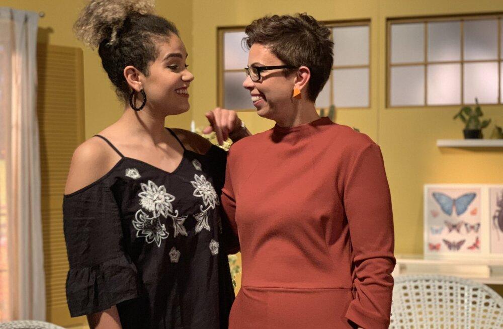 "VIDEO   Sissi Nylia Benita esineb saates ""Hommik Anuga"""