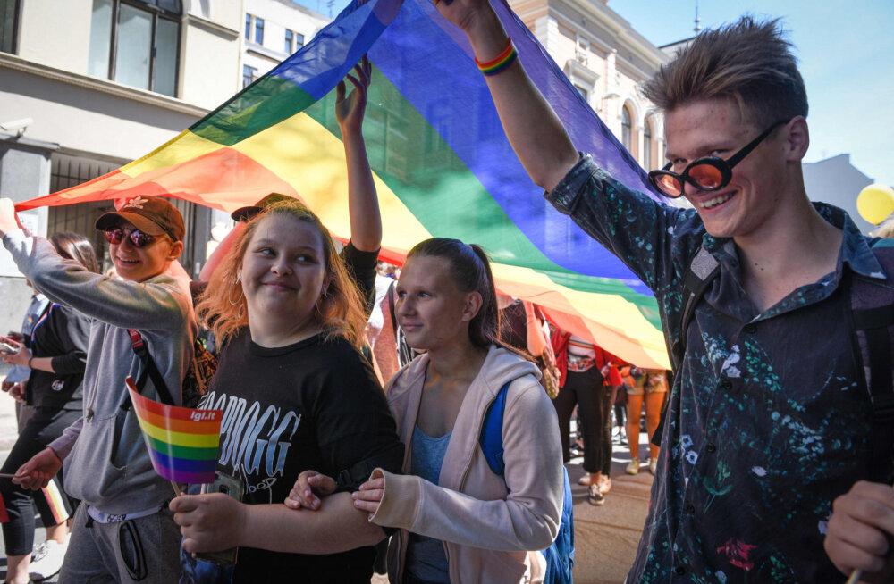 В Вильнюсе с размахом проходит фестиваль Baltic pride