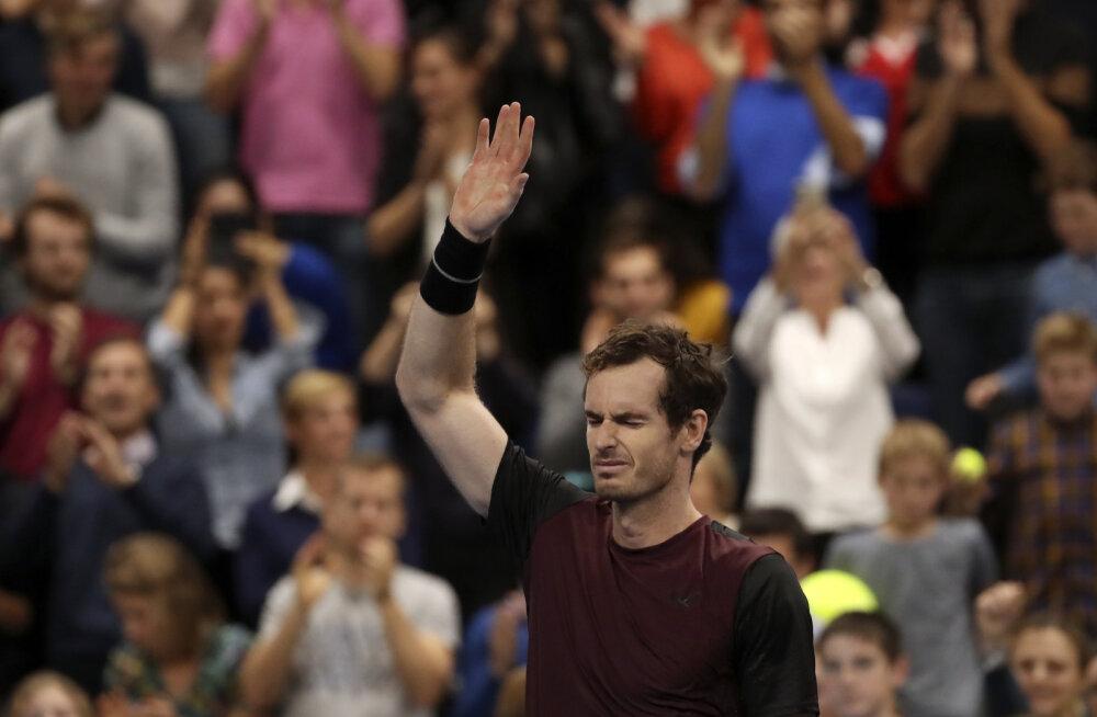 Võimsa tagasituleku teinud Andy Murray lõpetas kaheaastase tiitlipõua