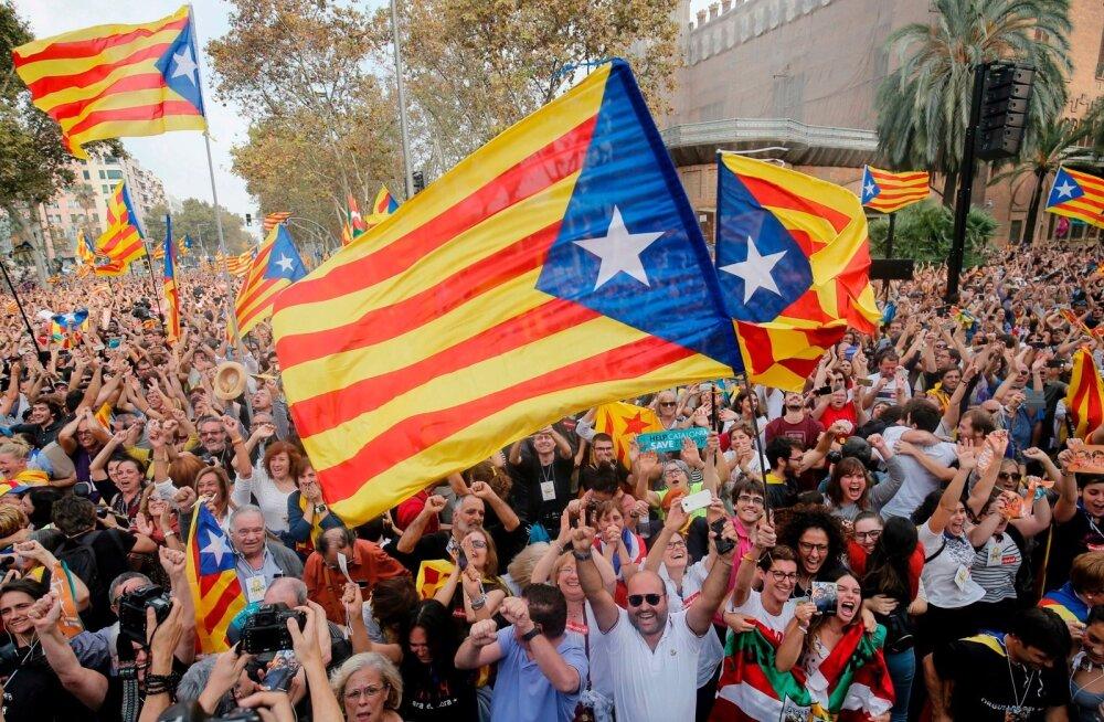 Kataloonia väljaanne: Hispaania hävitajad Balti riikides on vahetusraha Hispaania ühtsuse toetamise eest
