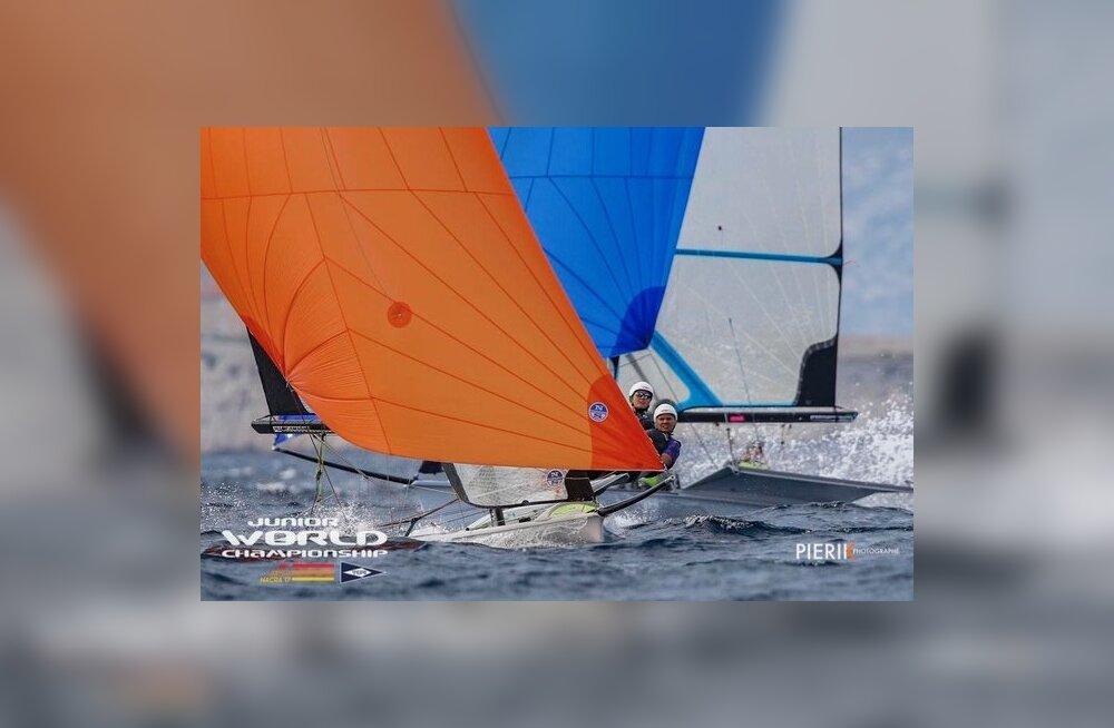 Kätlin Tammiste ja Anna Maria Sepp said purjetamise U23 MM-ilt kaheksanda koha