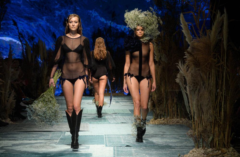 ФОТО | Четвертый день Riga fashion week: от винтажа до чувственной эротики