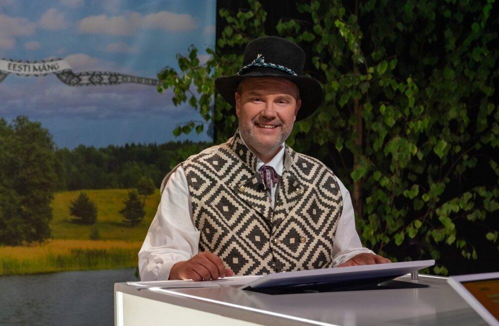 """""""Eesti mängu"""" juhib Gaute Kivistik."""