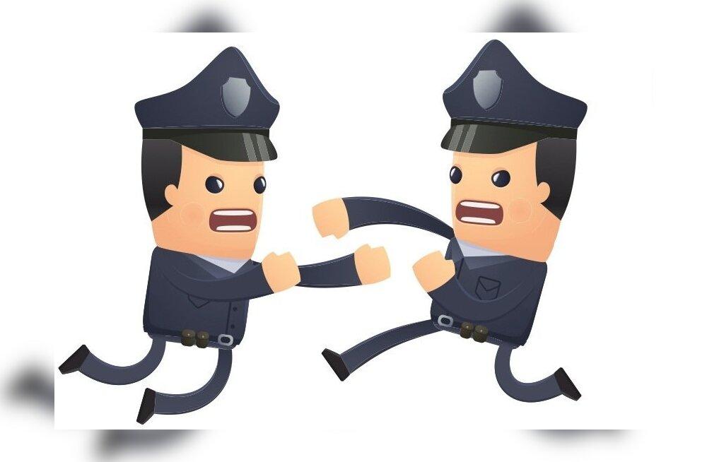 Опытного следователя уволили из-за драки с младшим коллегой