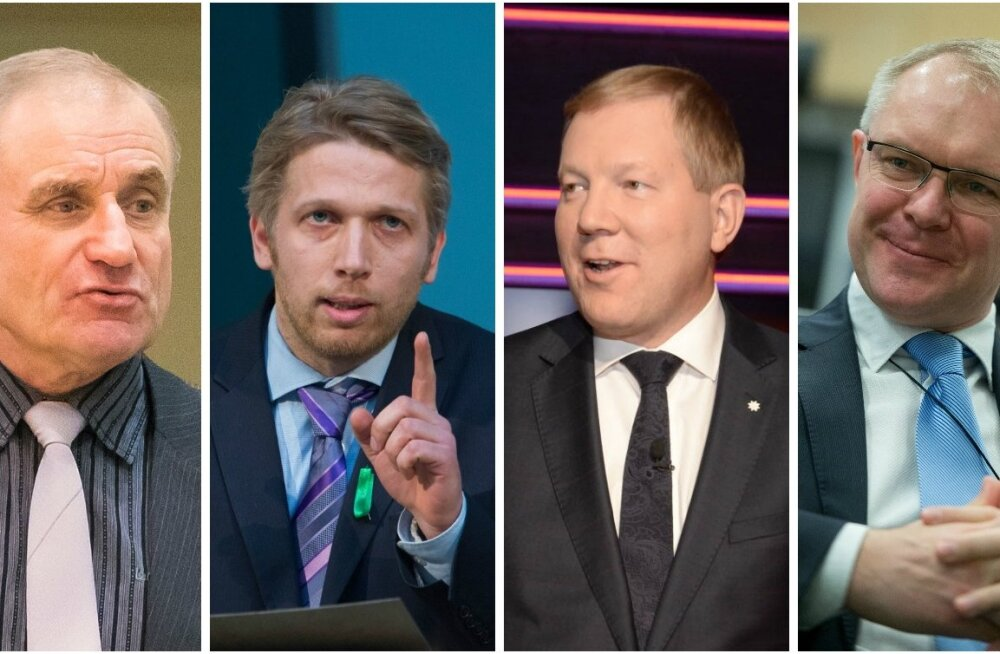 Ants Laaneots, Jaanus Karilaid, Marko Mihkelson ja Hannes Hanso