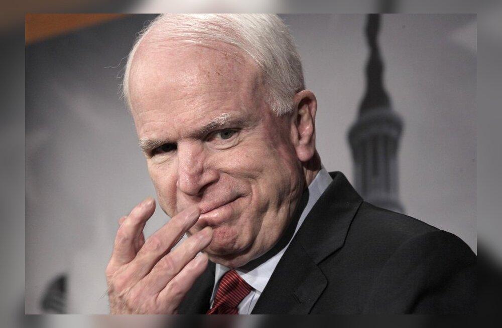 Sõnasõda jätkub: McCain nimetas Venemaa juhtkonda varaste võimuks