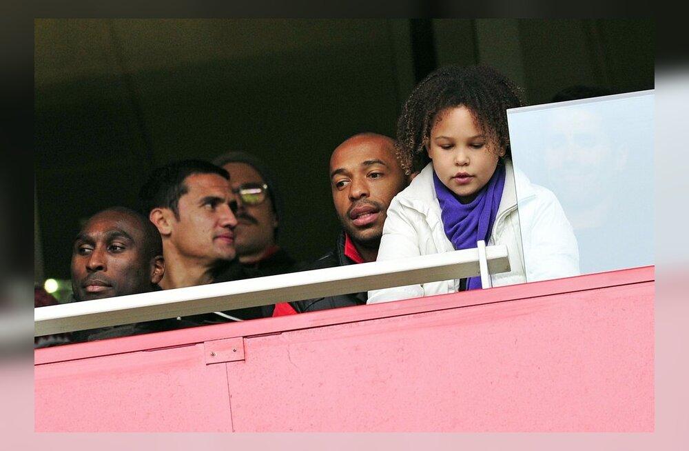 Thierry Henry'd võib varsti näha jälle Arsenali särgis