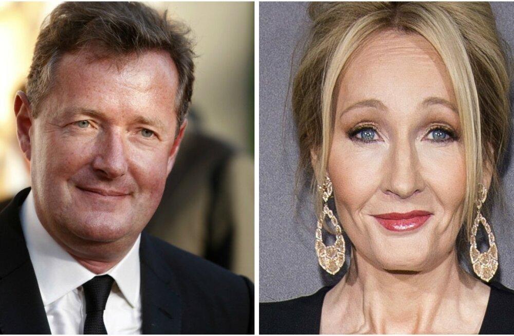 Piers Morgan ja JK Rowling