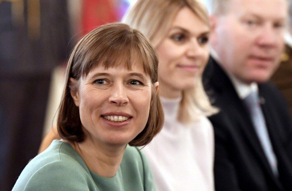 President Kaljulaid Vene telekanalile Dožd: fašiste on Eestisse Vene propaganda jaoks sisse toodud