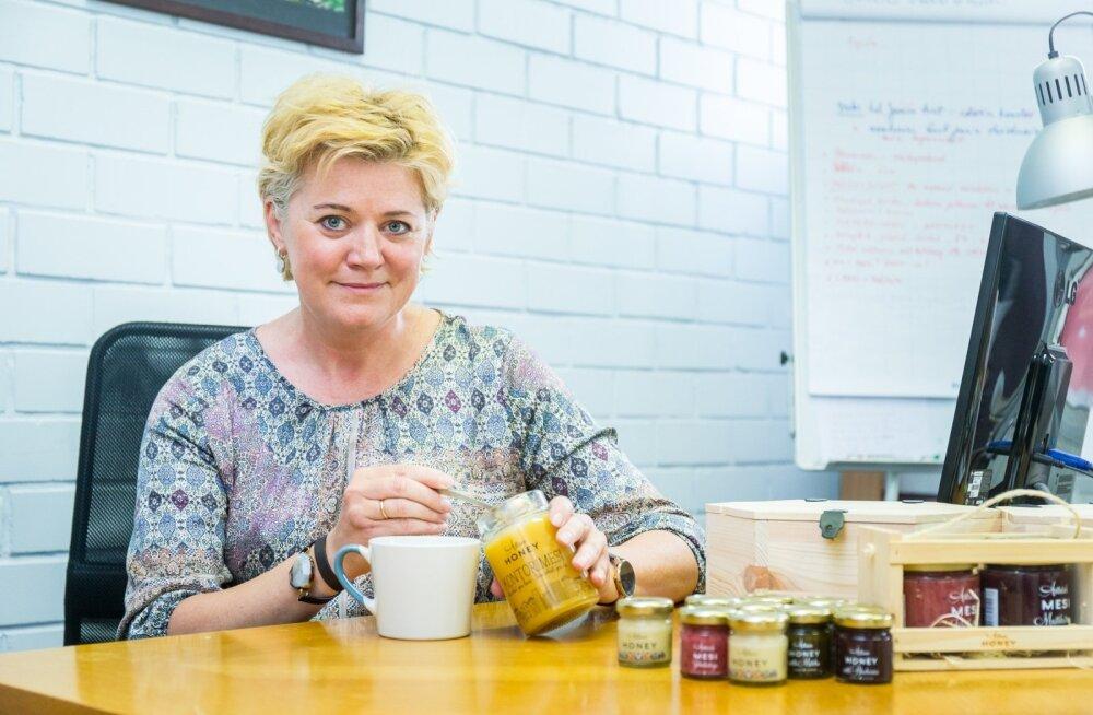 Artisan Honey kontorimesi sobib hästi töö juures tee sisse, maitsemeed on aga ka lusikaga söömiseks mõnus suutäis, kinnitab Margit Kulbin.