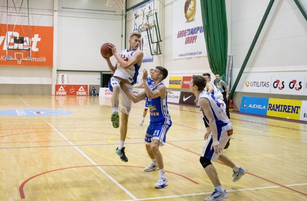 Korvpall G4S noorteliiga vs Kalev Cramo
