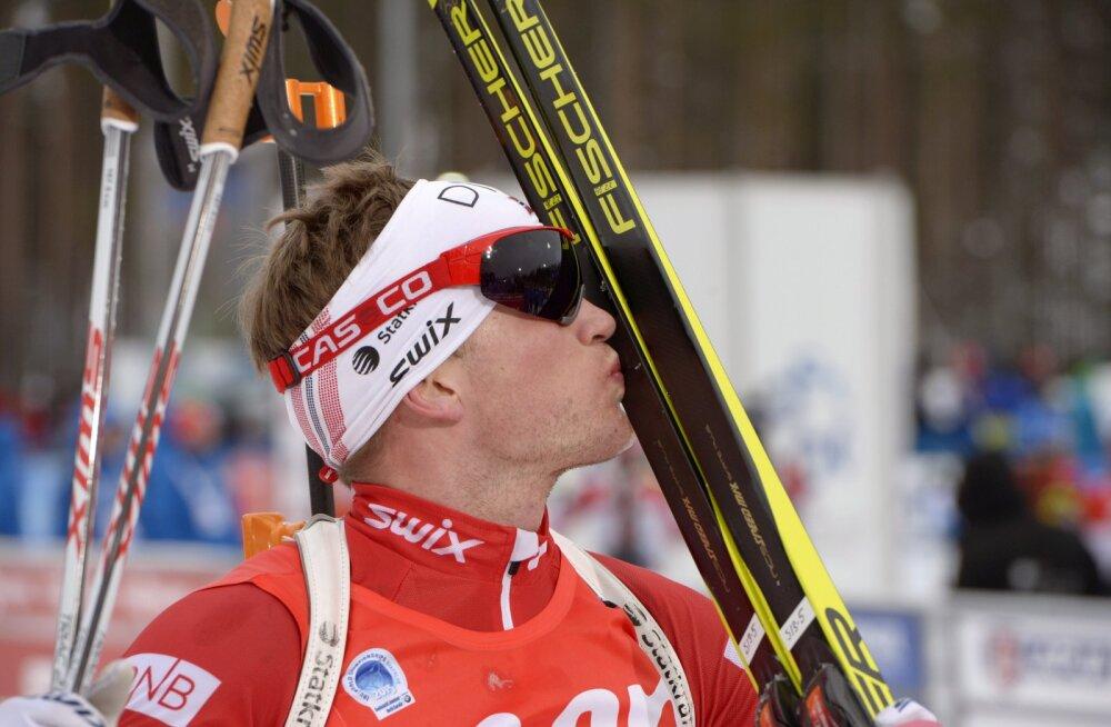 Kontiolahti sprindi võitis Johannes Thingnes Bø, Lessing ja Kõiv pääsesid jälitussõitu