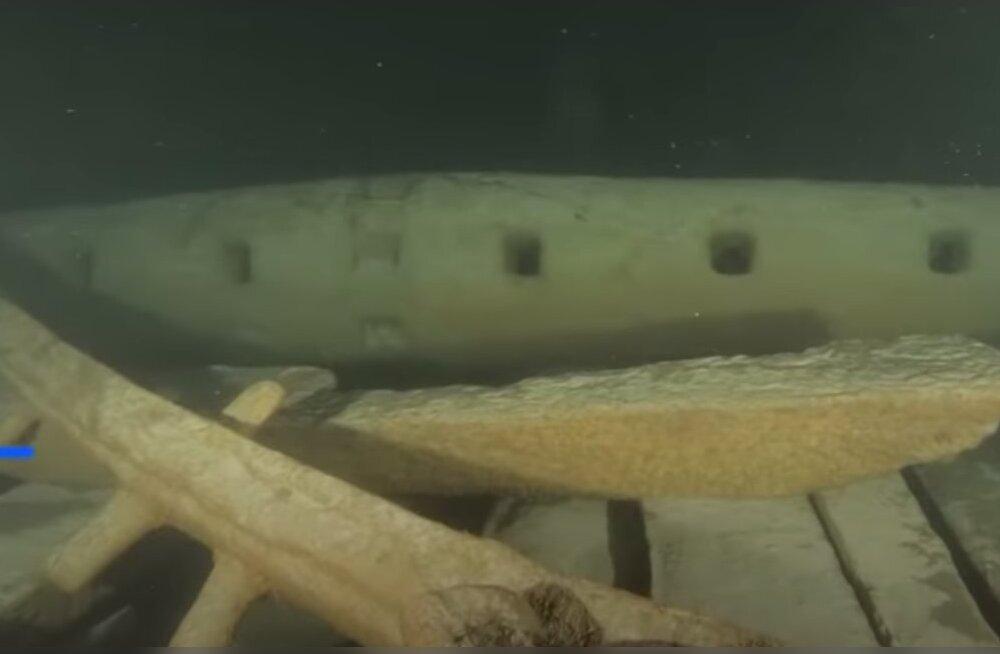 ВИДЕО | На дне Балтийского моря нашли неповрежденный корабль XVII века