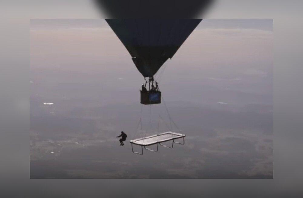 Batuudihüpe 1580 meetri kõrgusel