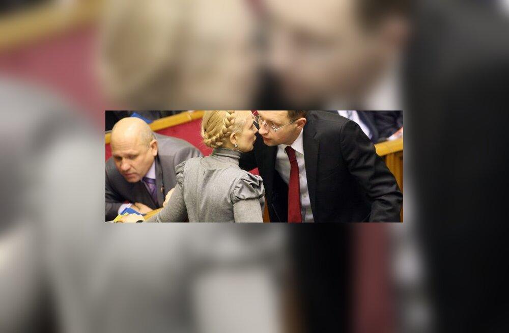 Kiievis endise spiikri ja Tõmošenko seksiskandaal