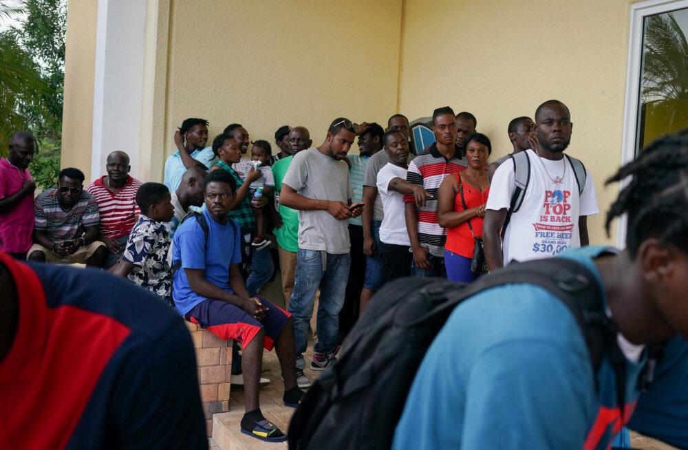USA ei anna orkaan Doriani tõttu peavarjuta jäänud bahamalastele ajutise kaitsealuse staatust