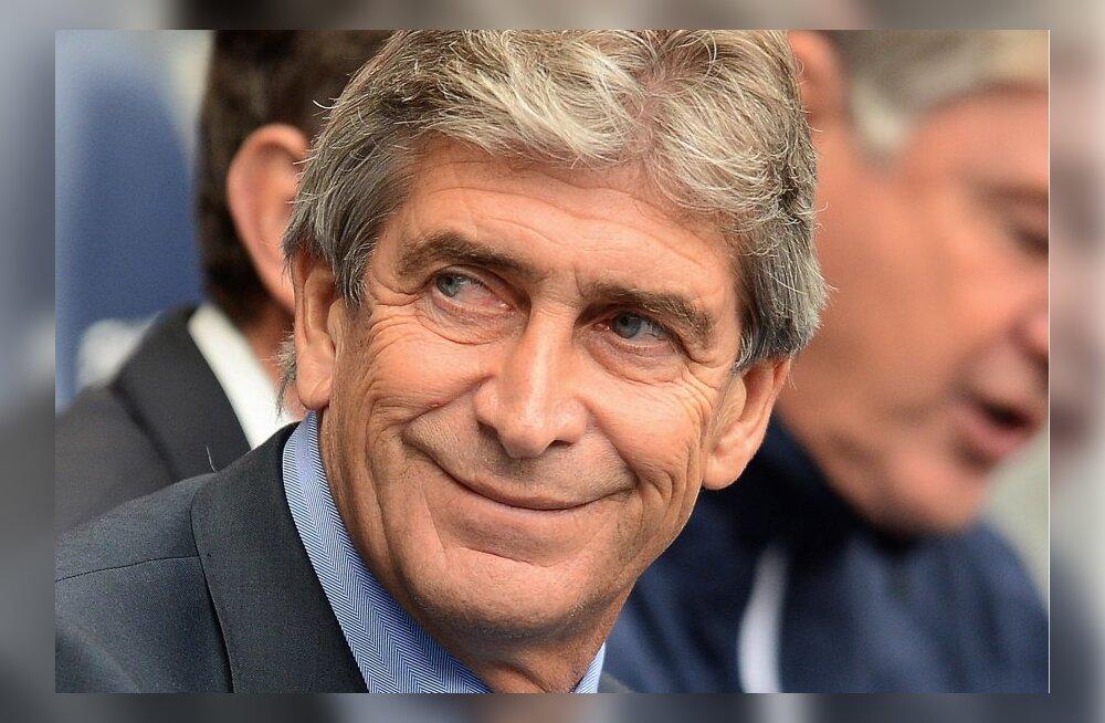 Manchester City peatreener Manuel Pellegrini