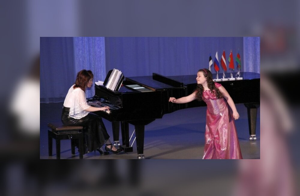 ФОТО: В Кохтла-Ярве открылся VI Международный конкурс вокала для детей и юношества