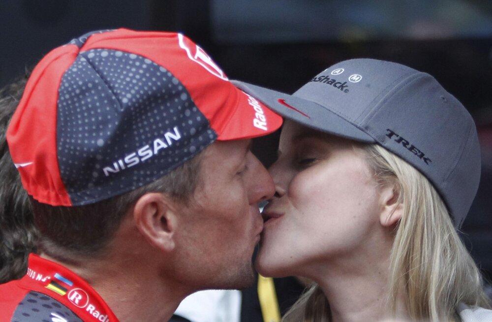 Lance Armstrong ja Anna Hansen