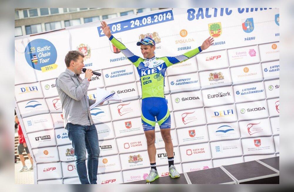Mykhaylo Kononenko Balti Keti velotuuri etapivõitja