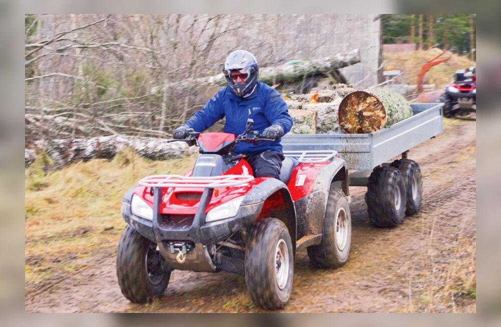 ATV – nii traktor kui ka lõbusõiduk