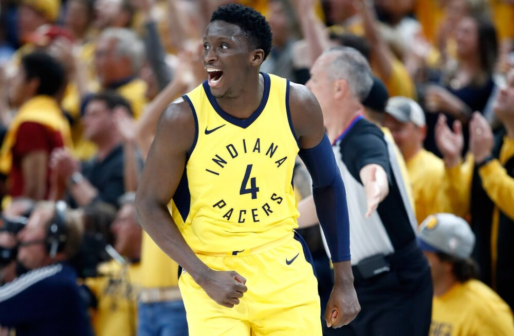 VIDEO | Pacers torkas vastu ja viis seeria LeBroni ja Cavaliersiga otsustava seitsmenda mänguni, Toronto lõi Wizardsi konkurentsist
