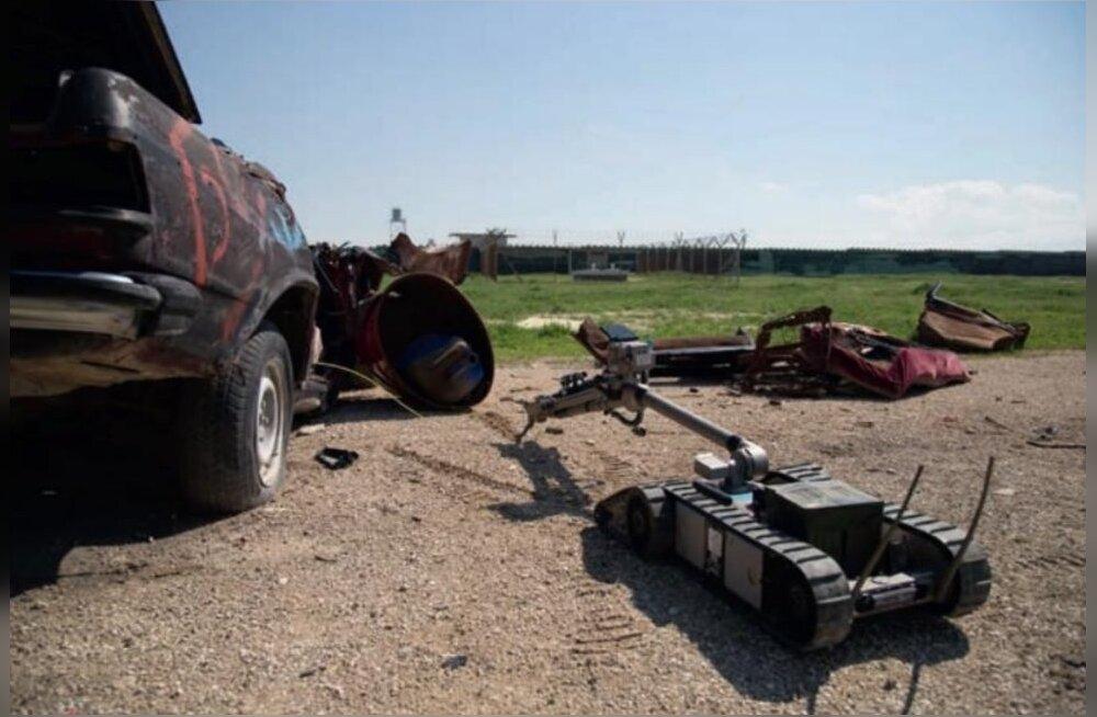 Ajakirjast Sõdur: Eesti mehed jahivad pomme Afganistanis