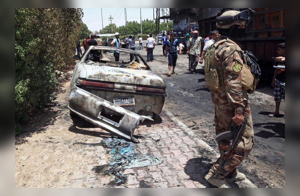 Autopommid surmasid Iraagis vähemalt 48 inimest