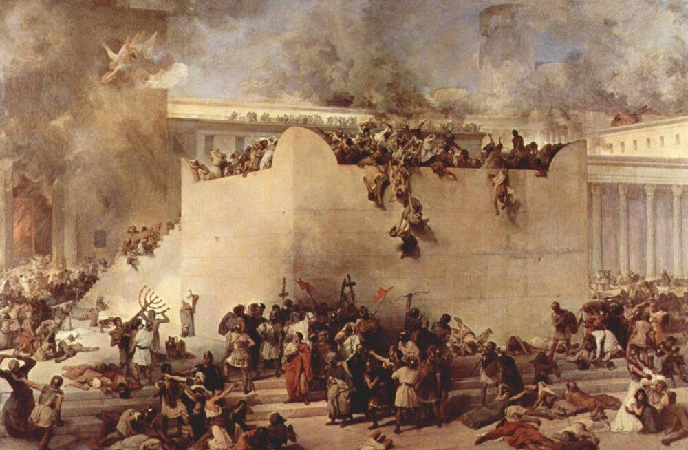 70 AD: Rooma hävitas Jeruusalemma ja paiskas juudid üle maailma laiali