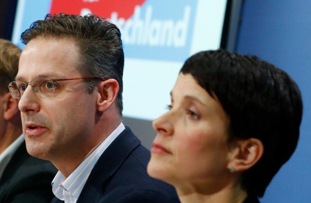 Venemaa maksis kinni Saksa parempopulistliku AfD poliitikute reisi eralennukiga Moskvasse