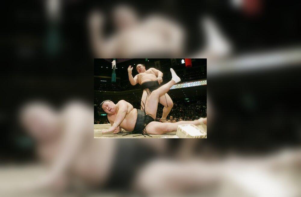 Asashoryu on alistanud Kyokutenho