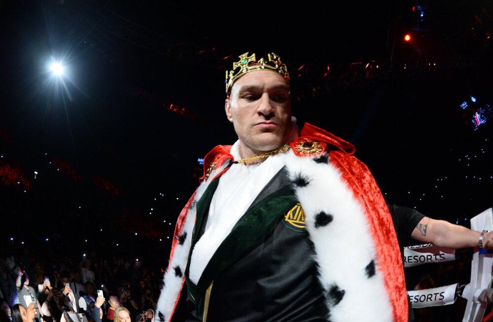 Tyson Fury isa soovitus Anthony Joshuale: kui sa tahad veel elus poksida, hoia Tysonist eemale