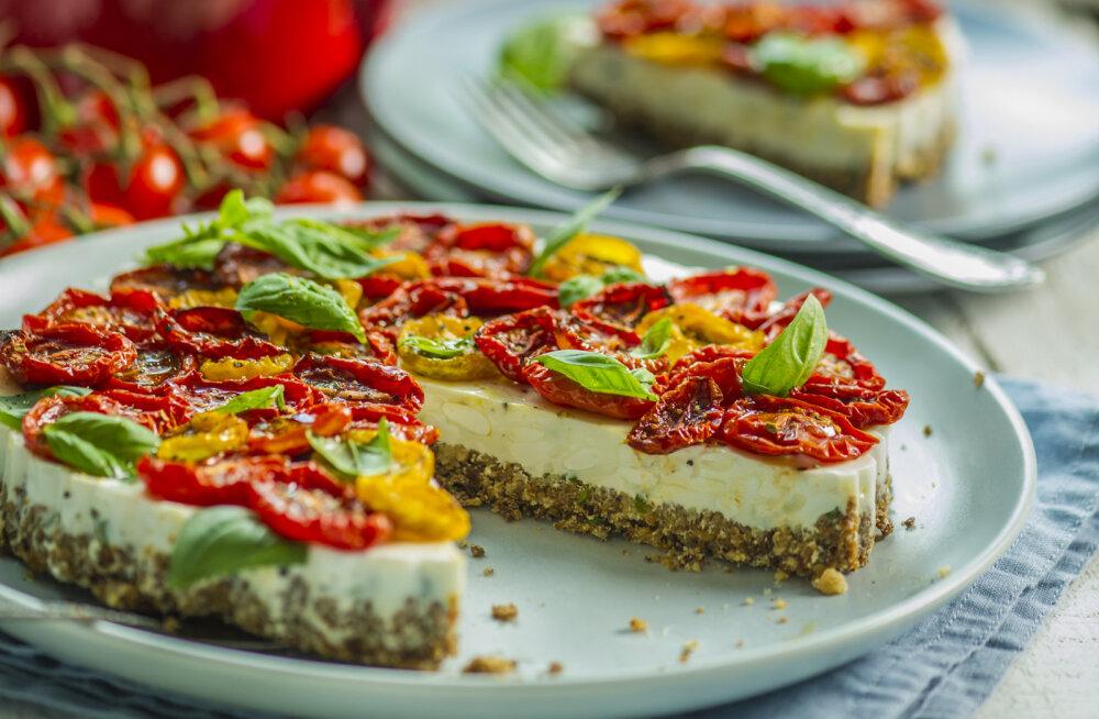 Kuidas vinnutada tomateid ja üks soolane kook, kus neid kasutada