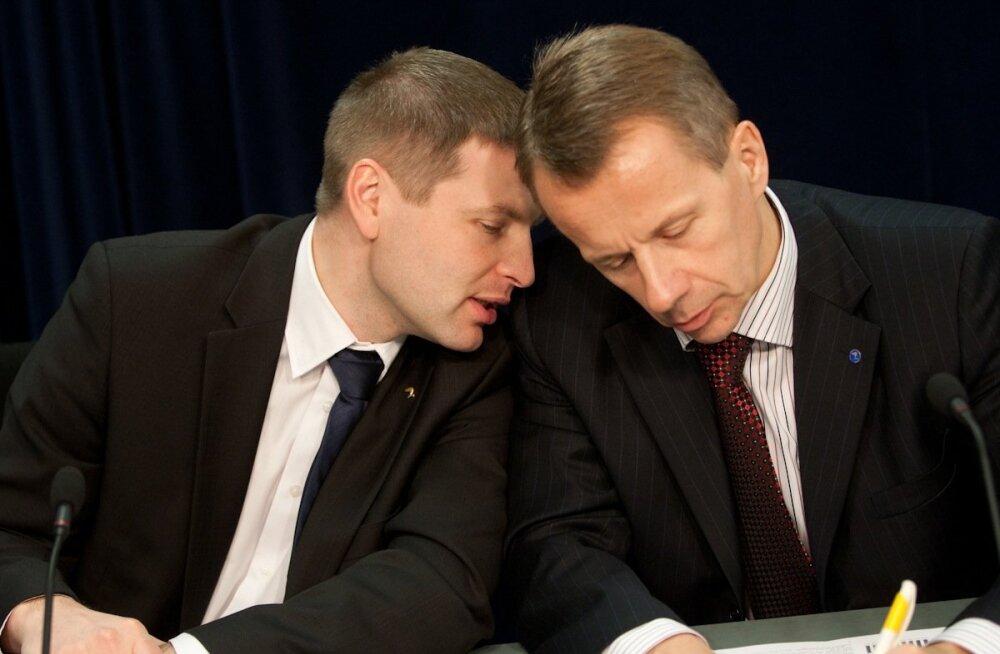 Hanno Pevkur ja Jürgen Ligi