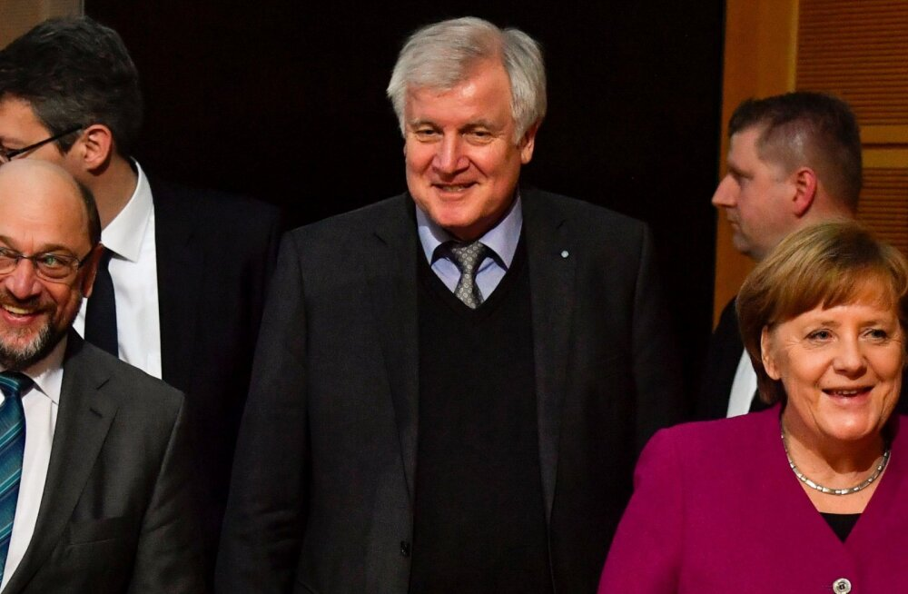 Läbimurre Saksamaal: koalitsioonis kokku lepitud, Schulz saab välisministriks