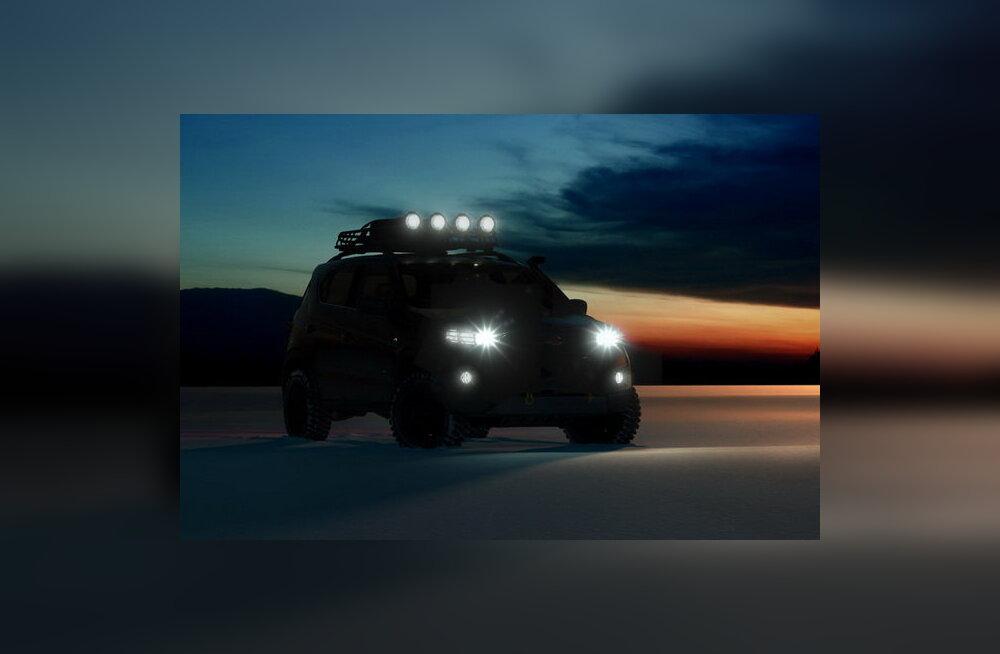 Moskva autonäitusel näeb ideeautot Chevrolet Niva