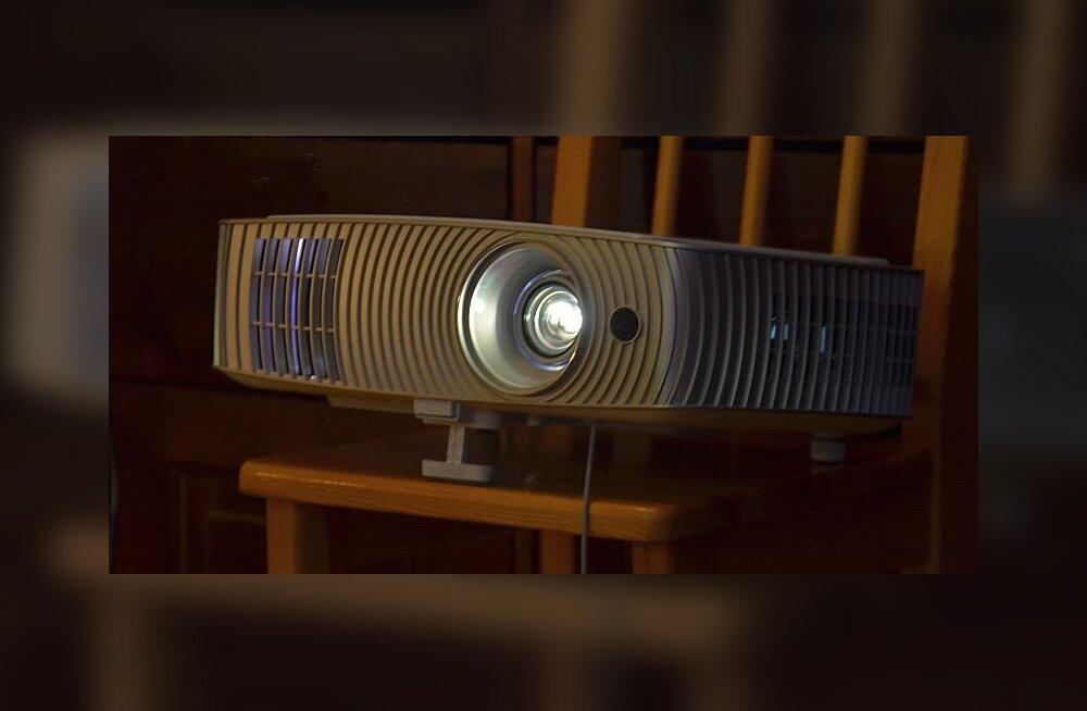 TEST: Projektor koju? Jah, kui suure ekraani nimel teatud puudustega lepid