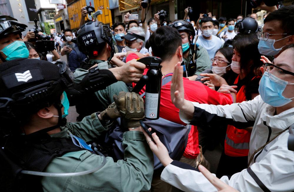 USA võttis Hongkongilt oma seadusest tuleneva eristaatuse