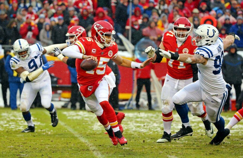 Coltsi rünnak oli ümmargune null, Chiefsilt saadi halastamatult tappa ja Hundil algas puhkus